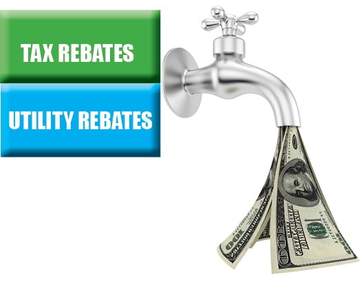 How Can I Take Advantage of Tax and Utility Rebate Incentives to Fund Building Projects