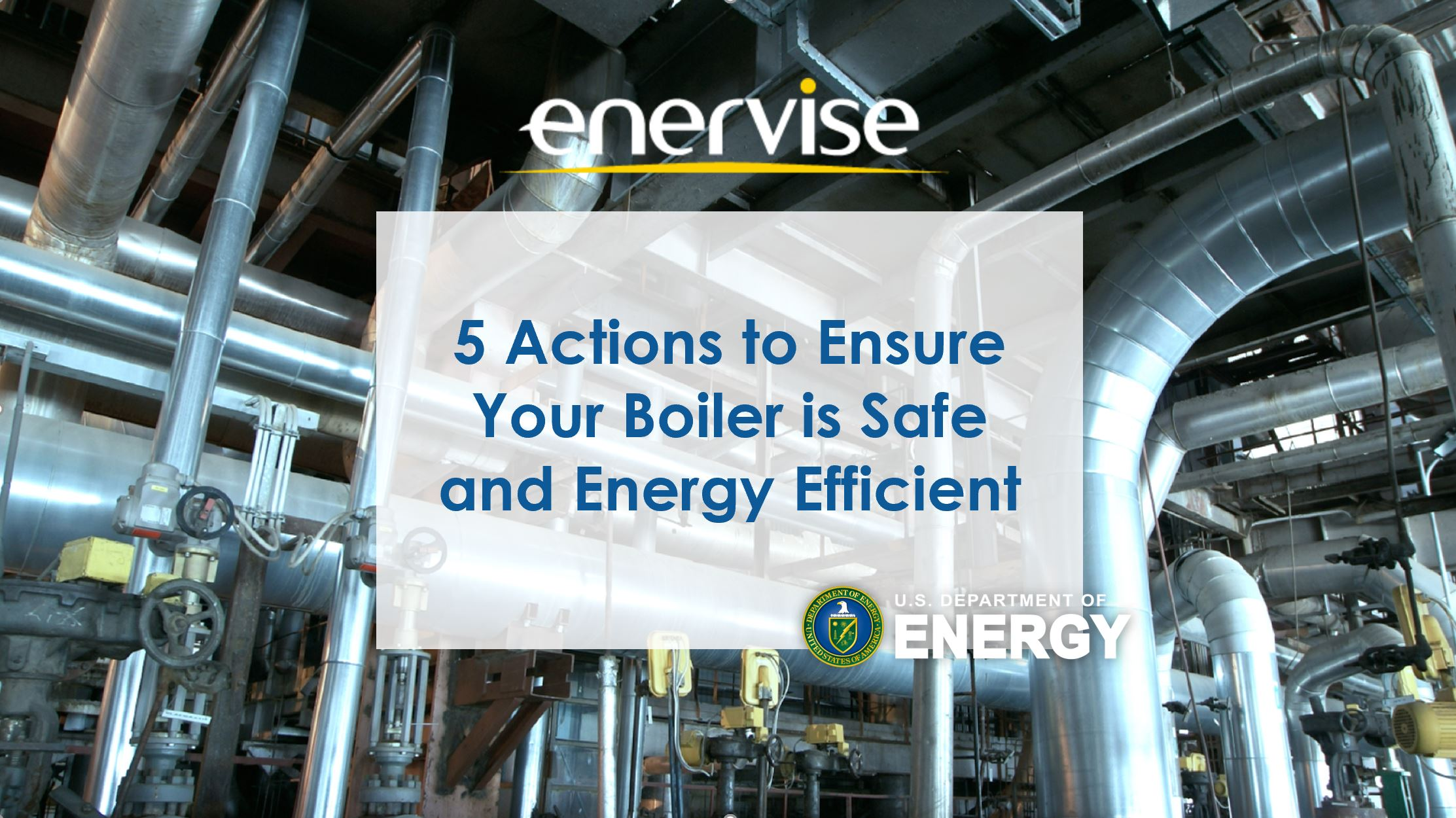 5 Actions to Ensure Your Building's Boiler is Safe and Energy Efficient